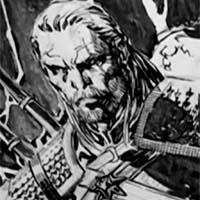 Jim Lee disegna Geralt da The Witcher