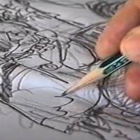 La composizione grafica di Sergio Toppi